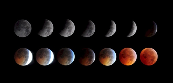 Lunar Eclipse by Keith Burns - courtesy NASA